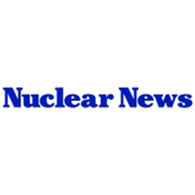 Nuclear News, A Publication of the American Nuclear Society